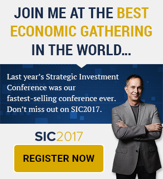 Join me at the best economic gathering in the world... Register Now