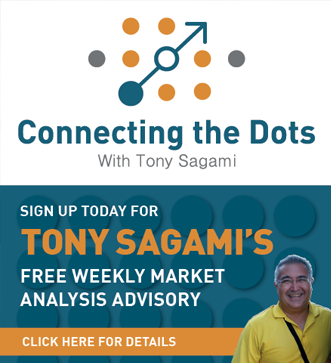 Sign up today for Tony Sagami's FREE weekly market analysis advisory - Click here