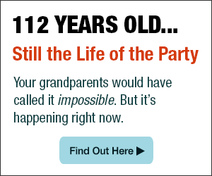 112 Years Old ... Still The Life of the Party - Find out more here