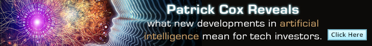 Patrick Cox reveals what new developments in artificial intelligence mean for tech investors - click here