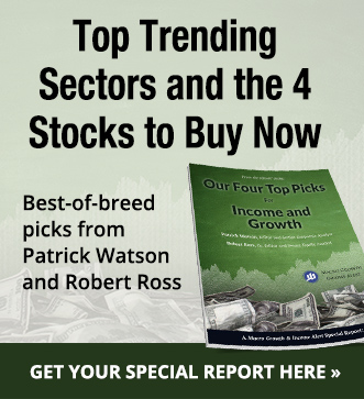 Top Trending Sectors and the 4 Stocks to Buy Now - get your special report here.