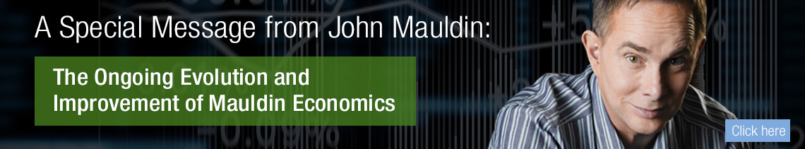 A special letter from John Mauldin revealing the ongoing evolution of Mauldin Economics